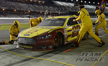 Logano Crosses Finish Line In Third-Place at Daytona