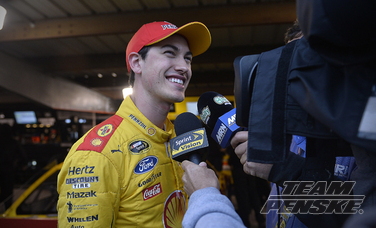 Logano Wins Pole For This Sunday's STP 500