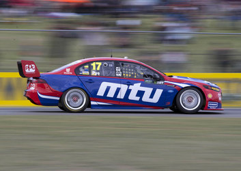 Tough Day On Track For DJR Team Penske