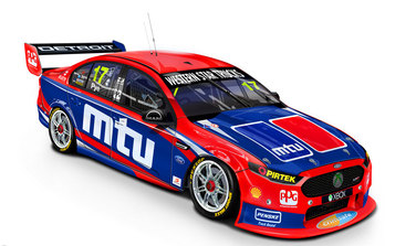 MTU to be a Primary Sponsor for DJR Team Penske