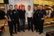 Hugo Boss Event for Penske Racing IndyCar Series and ALMS drivers photo gallery